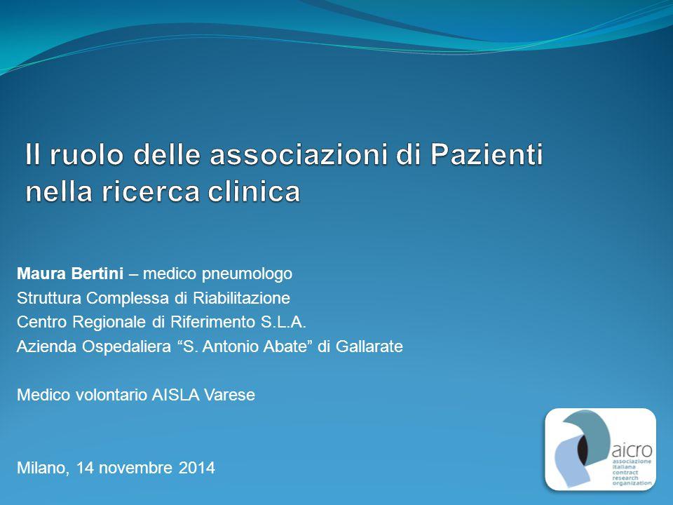 Agenda 1.La ricerca: principi etici 2. I cittadini-pazienti e la partecipazione alla ricerca 3.