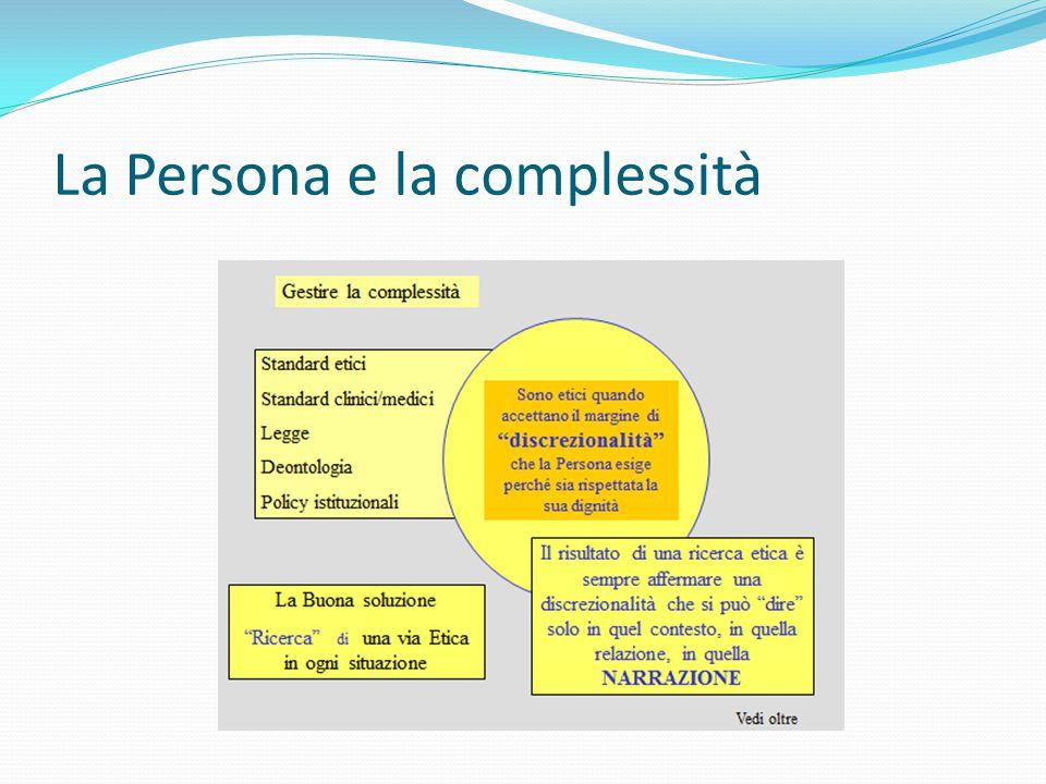 La Persona e la complessità