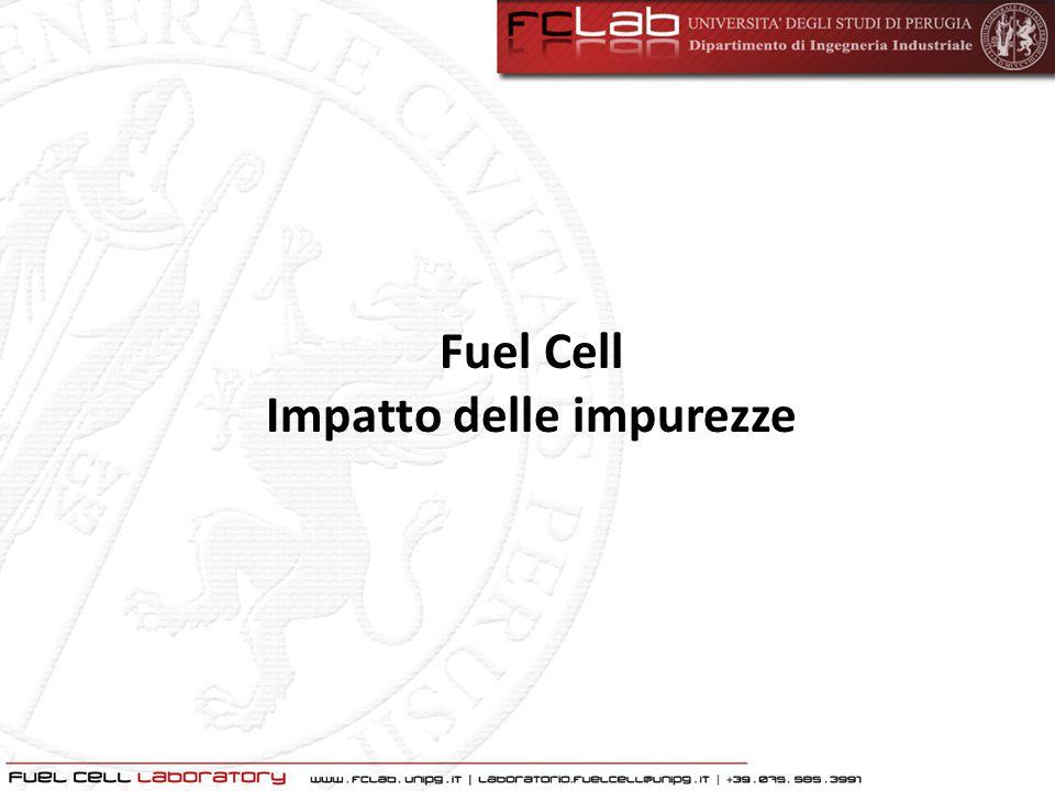 Fuel Cell Impatto delle impurezze