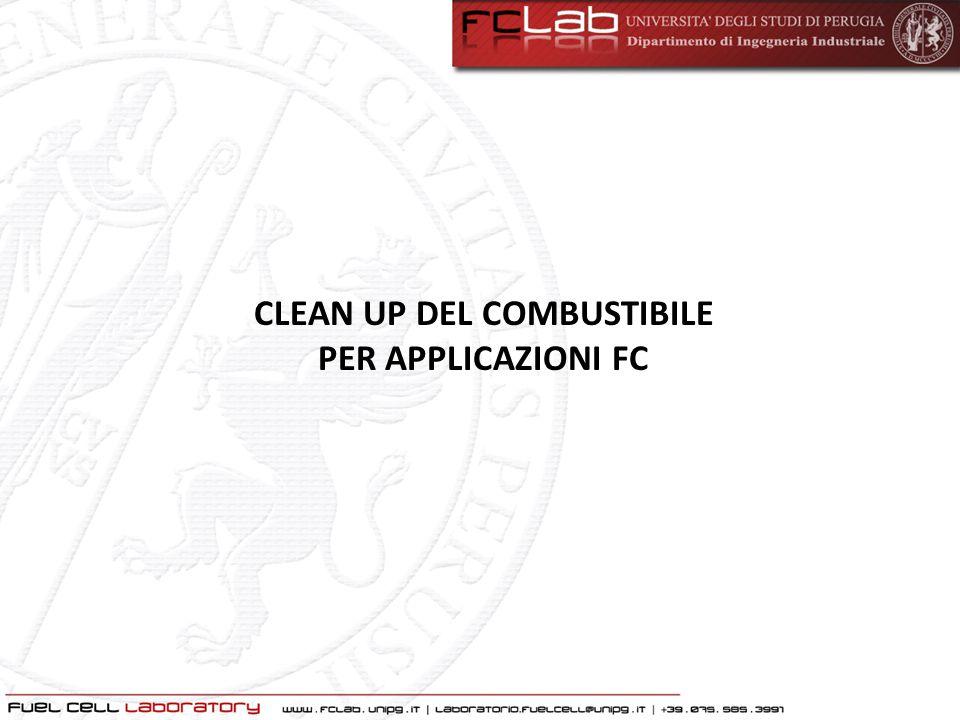 CLEAN UP DEL COMBUSTIBILE PER APPLICAZIONI FC
