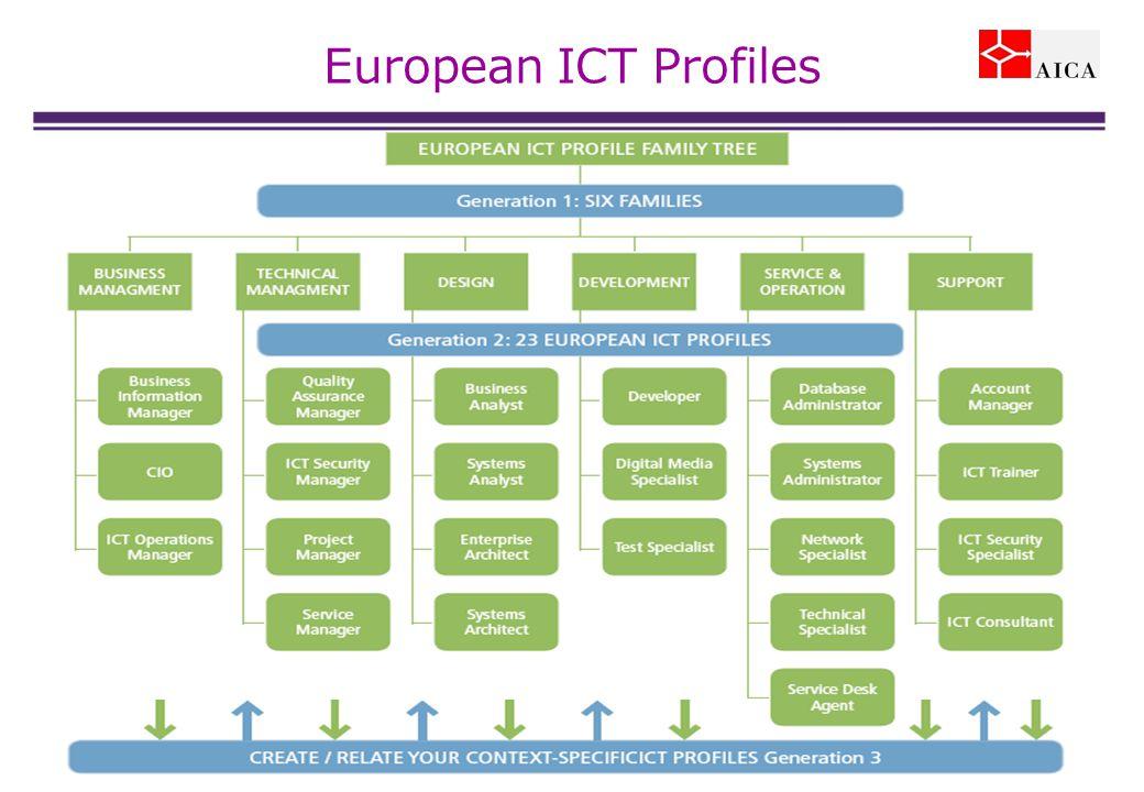 European ICT Profiles