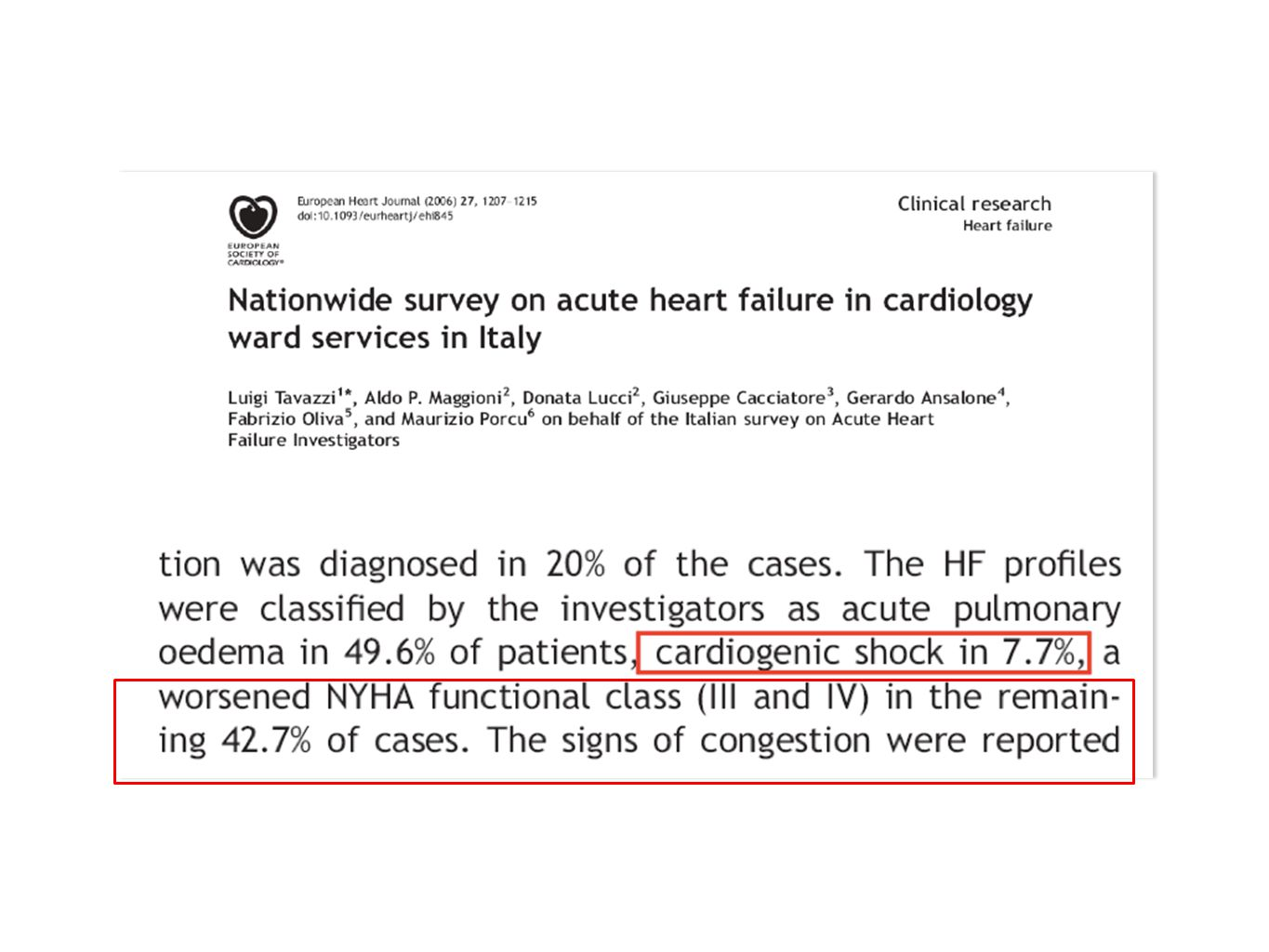 IMMEDIATE CLINICAL OUTCOME (2009-2013) variableLVAD 22 patients 30 days survival*91± 0,55 2 pt.