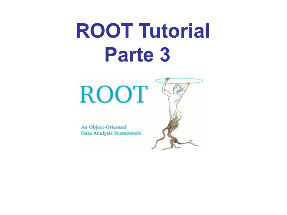 ROOT Tutorial Parte 3