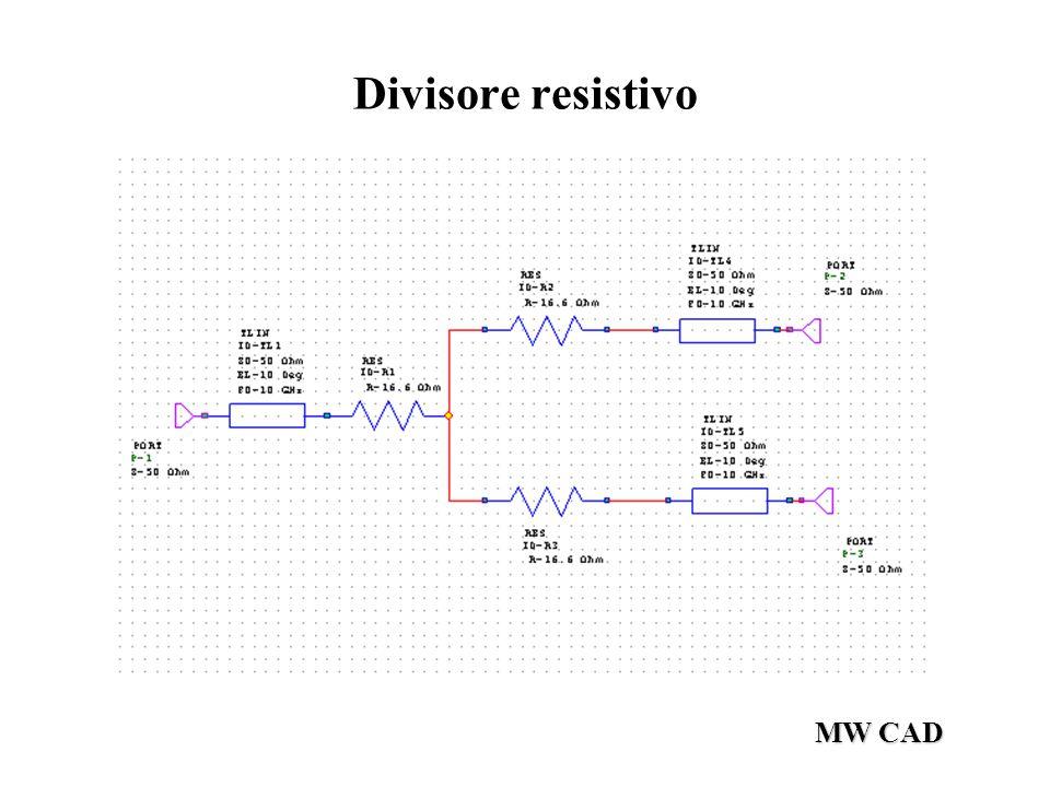 MW CAD Divisore resistivo
