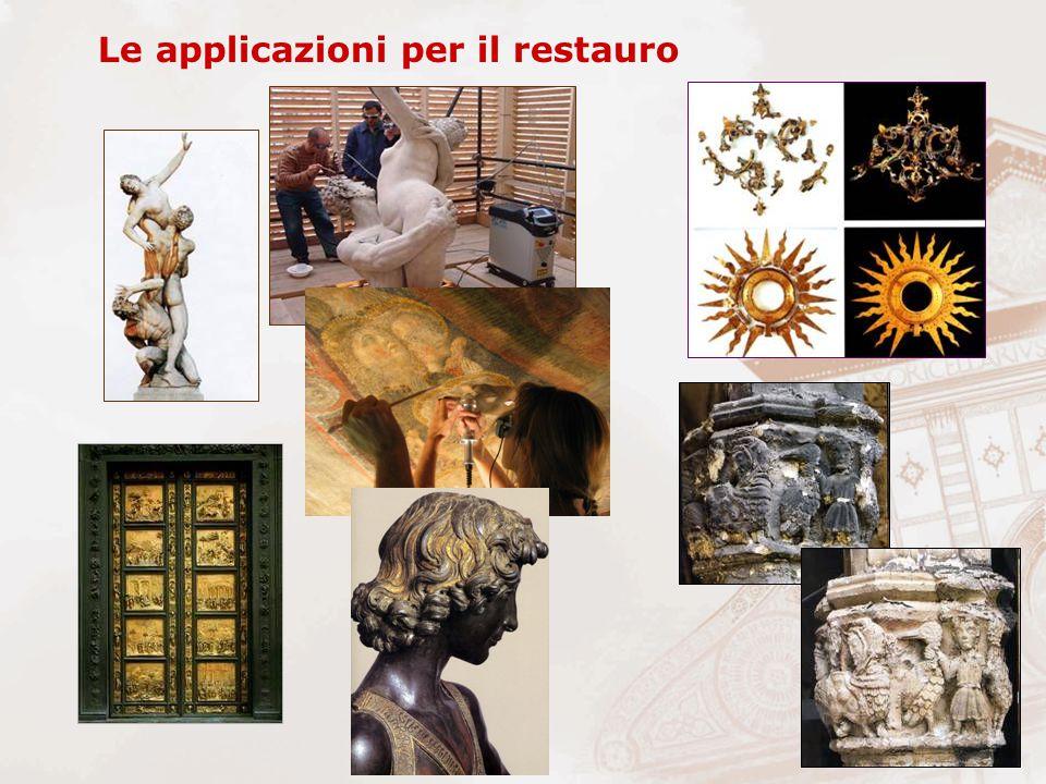 Le applicazioni per il restauro