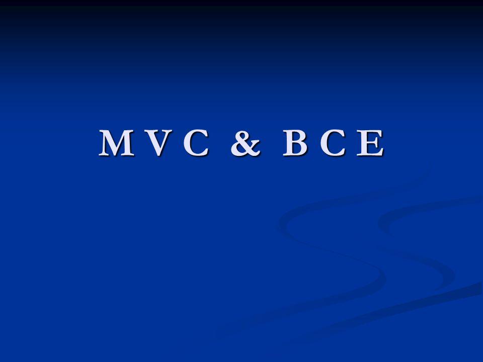 M V C & B C E