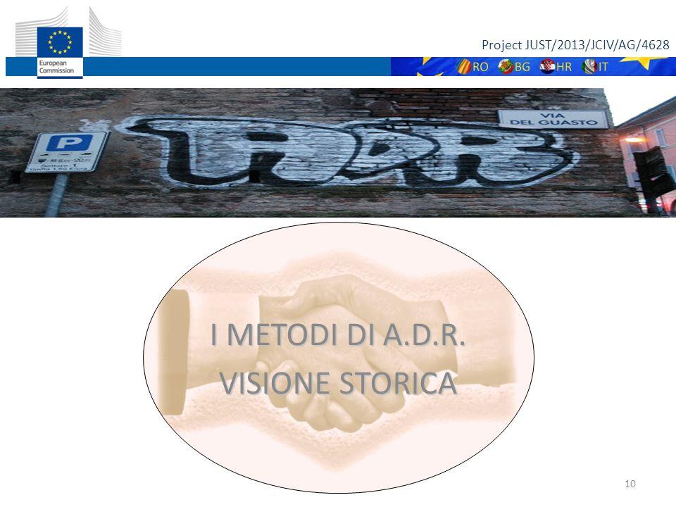 Project JUST/2013/JCIV/AG/4628 11 A.D.R.