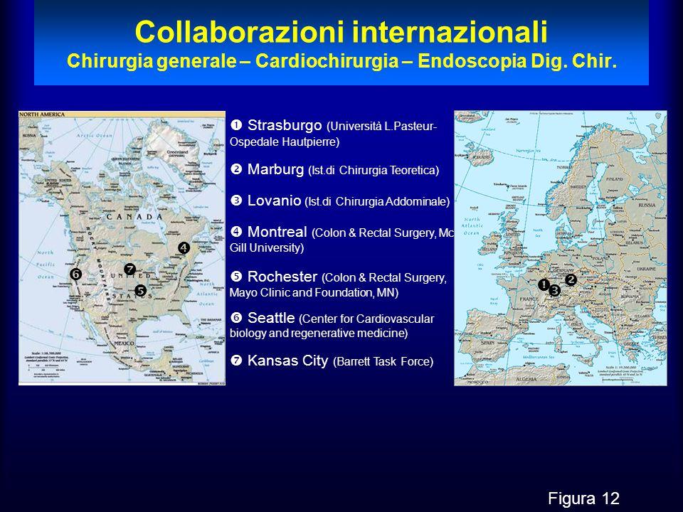 Collaborazioni internazionali Chirurgia generale – Cardiochirurgia – Endoscopia Dig. Chir.   Strasburgo (Università L.Pasteur- Ospedale Hautpierre)