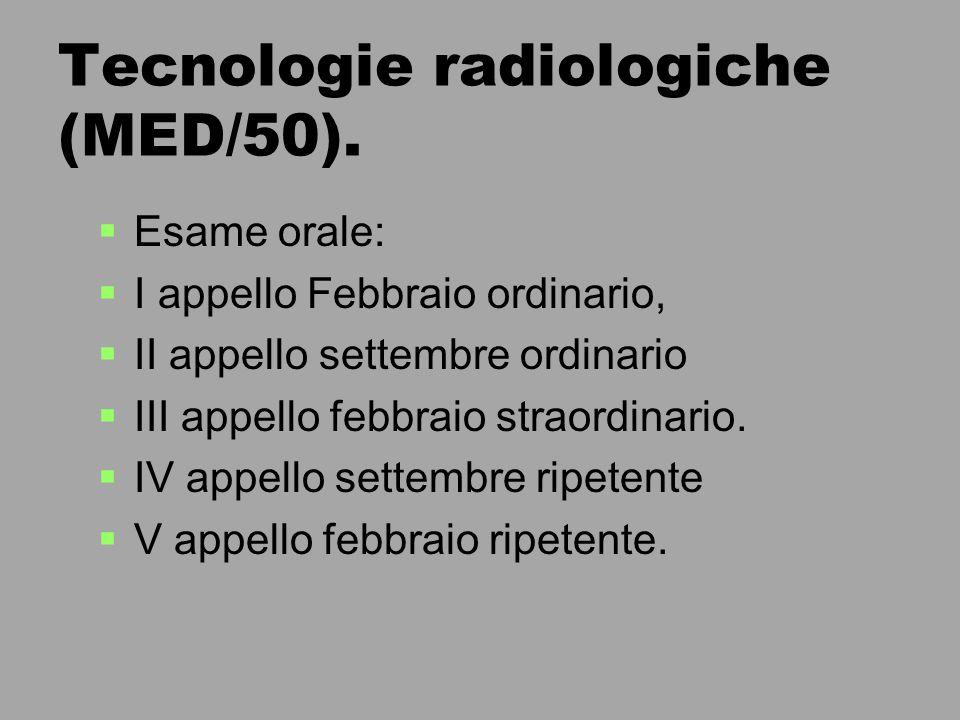 Cenni sulle radiazioni elettromagnetiche e la produzione dei raggi X   Radioattività   Radiazioni ionizzanti   Irraggiamento   Classificazione delle aree   Schermature e protezioni   Cenni di radioprotezione