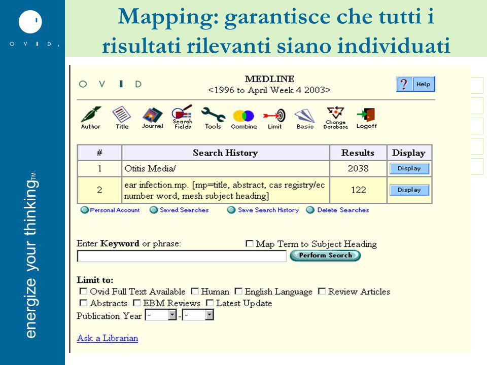 energise your thinkingenergize your thinking TM Example link for set Example link for record AutoAlerts – per tenersi aggiornati
