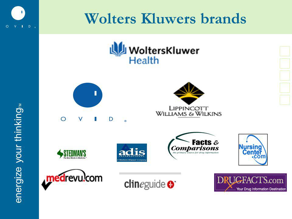 energise your thinkingenergize your thinking TM Wolters Kluwers brands