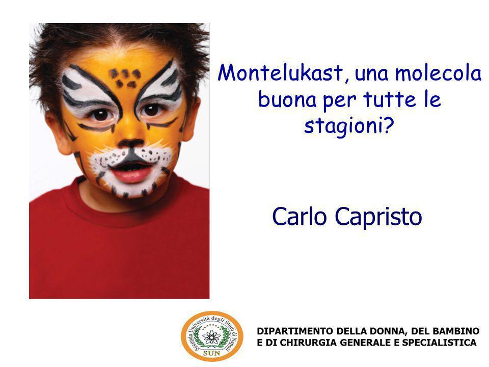 Carlo Capristo Montelukast, una molecola buona per tutte le stagioni?