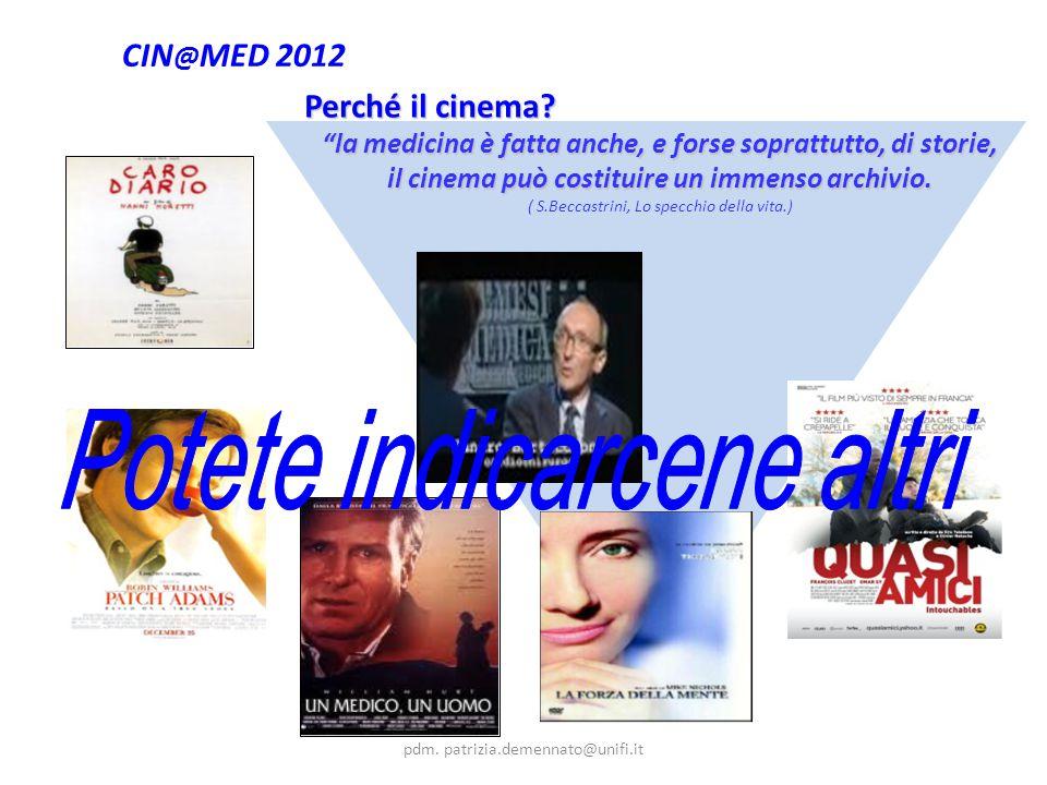 CIN @ MED 2012 Perché il cinema.