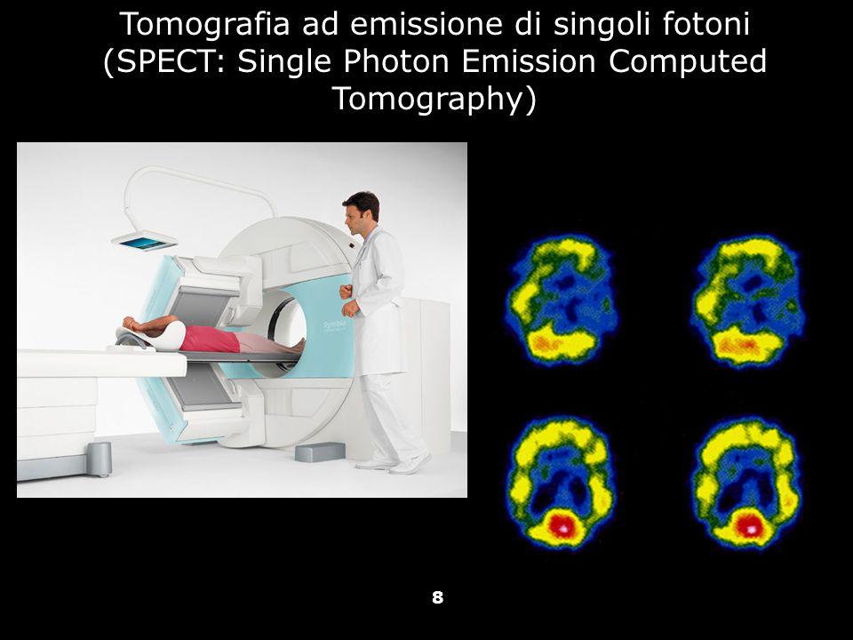 Vallar, Papagno (a cura di), Manuale di neuropsicologia, Il Mulino, 2011 Capitolo IV. ELEMENTI DI NEUROLOGIA 8 Tomografia ad emissione di singoli foto