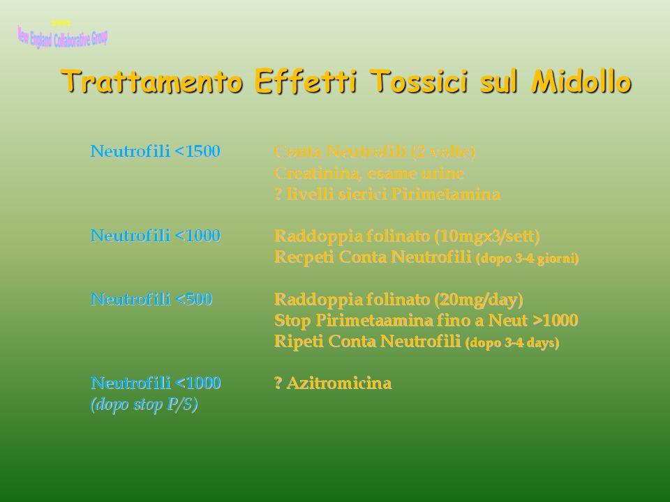 Trattamento Effetti Tossici sul Midollo 1991