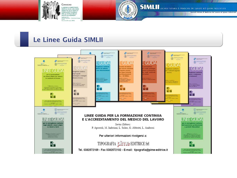 Le Linee Guida SIMLII Alfonso Cristaudo