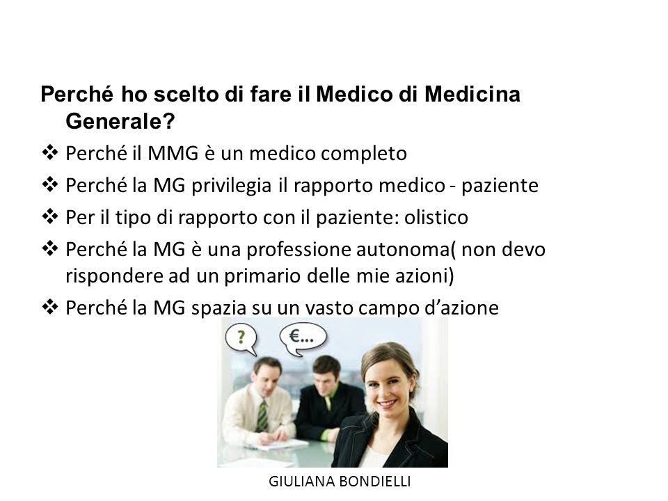Perché ho scelto di fare il Medico di Medicina Generale.