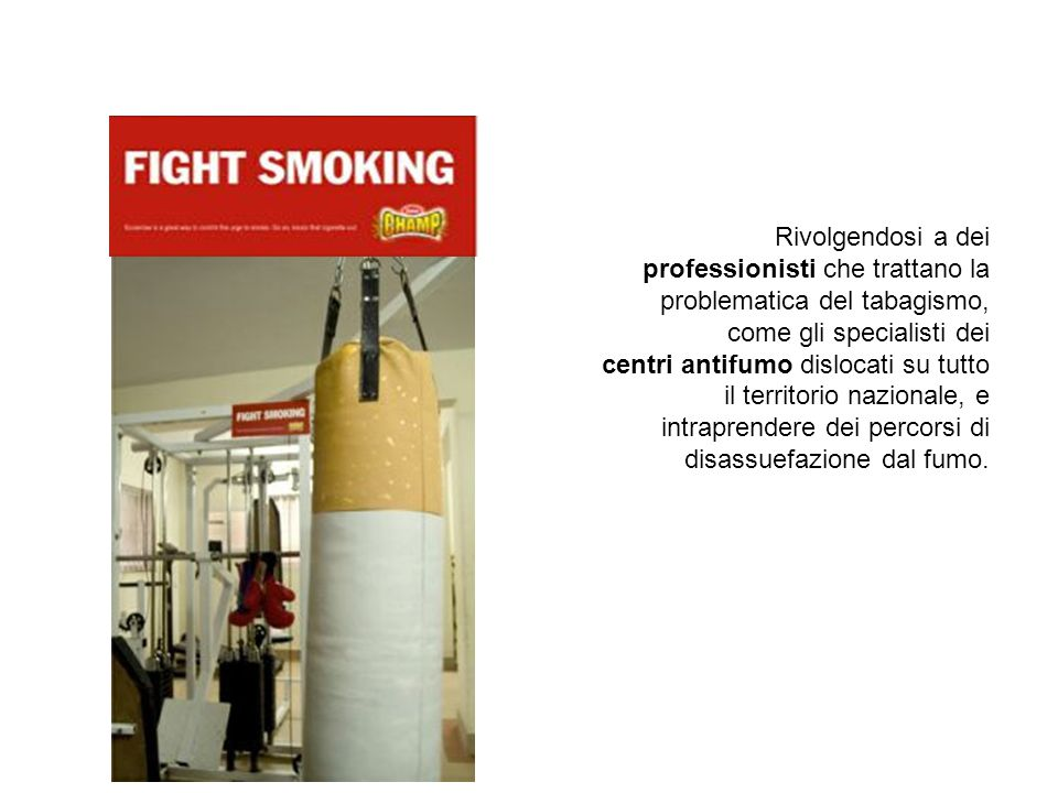Come smettere di fumare.