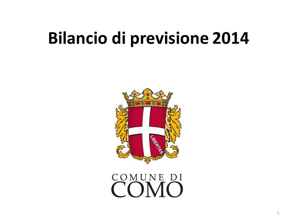 Bilancio di previsione 2014 1