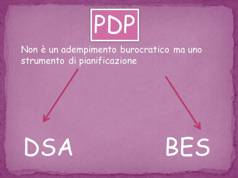Non è un adempimento burocratico ma uno strumento di pianificazione DSABES PDP