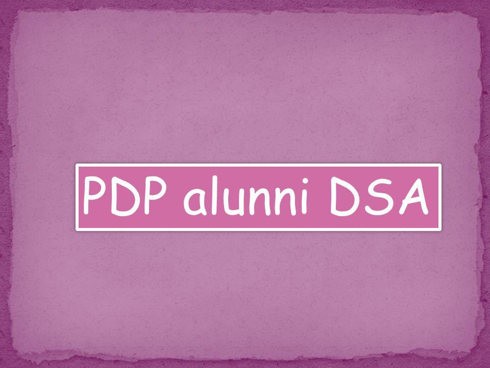 PDP alunni DSA