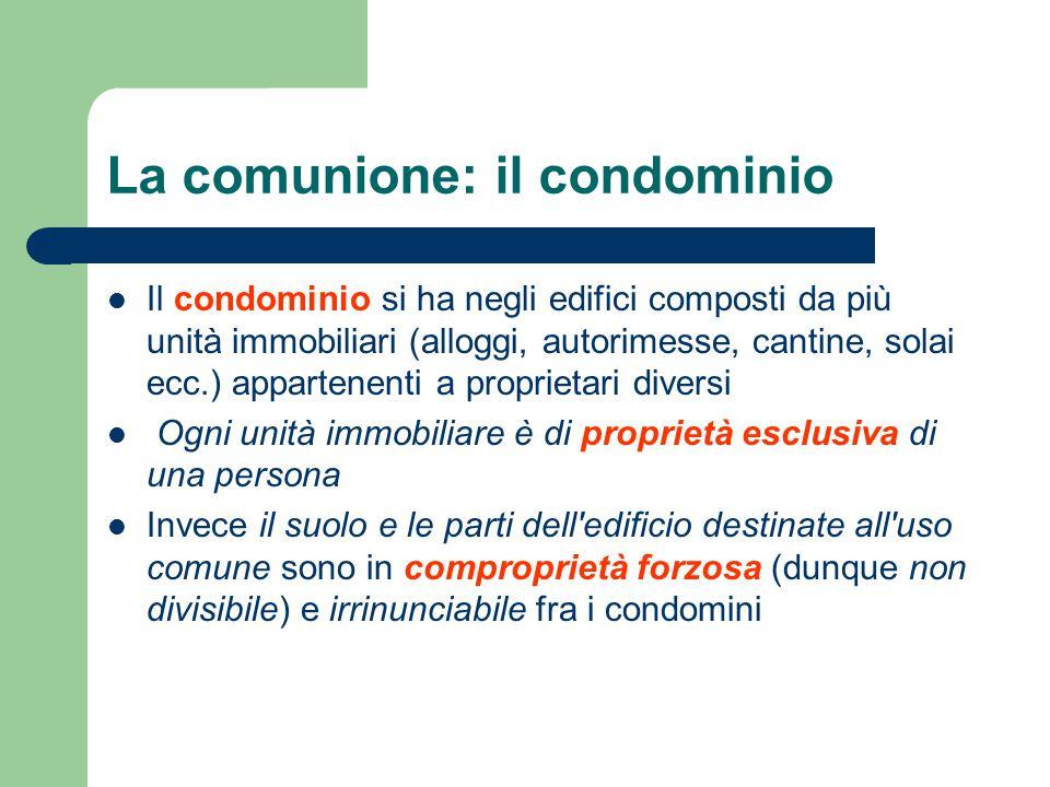 LE TABELLE MILLESIMALI Quote di parti comuni ( ripartiscono le spese) I LASTRICI SOLARI sono di regola di uso comune.