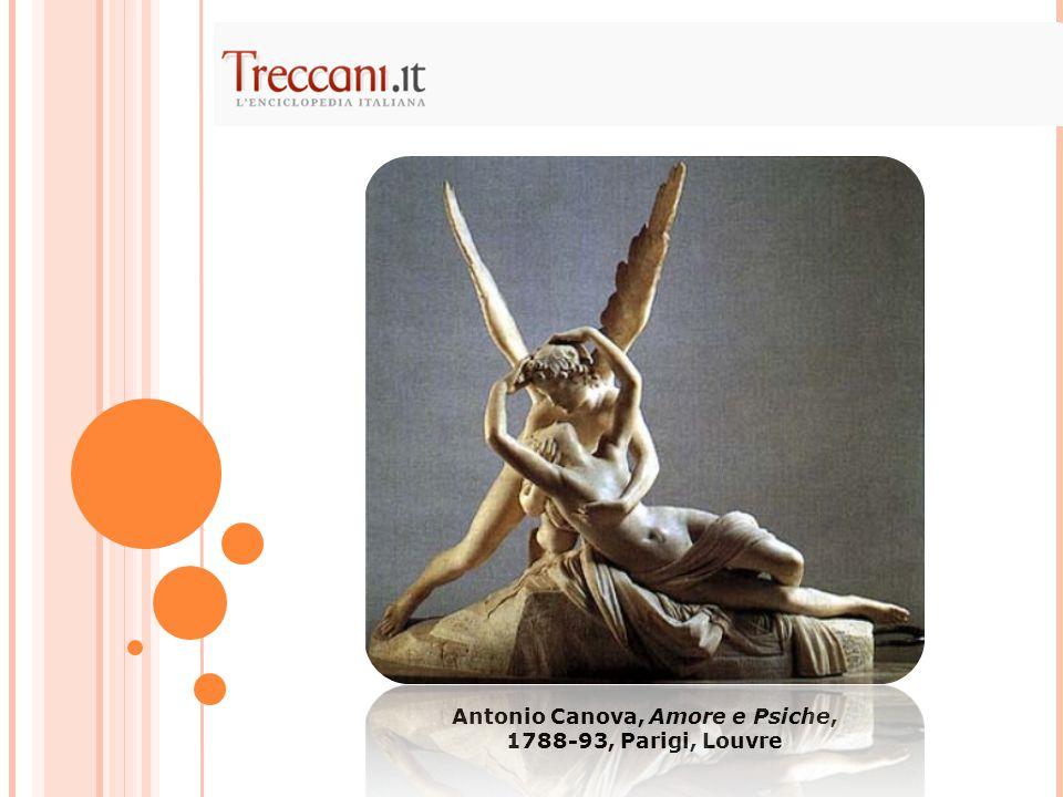 Antonio Canova, Amore e Psiche, 1788-93, Parigi, Louvre