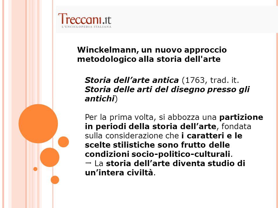 Storia dell'arte antica (1763, trad.it.
