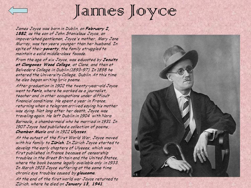 Inglese James Joyce Ulysses