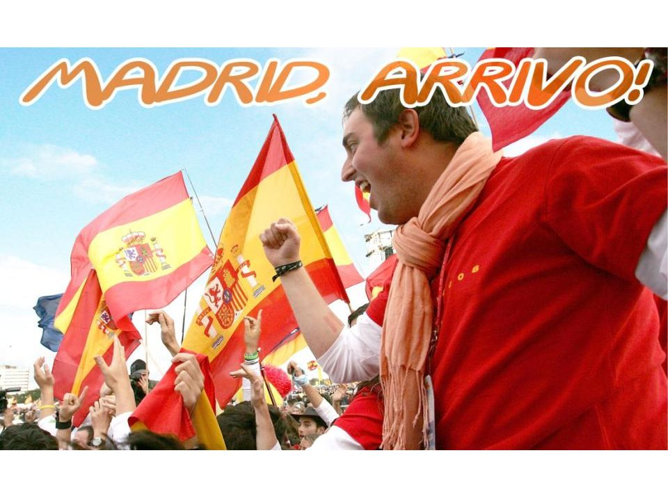 PARMA MADRID Come andare Andremo a Madrid in pullman (23h).