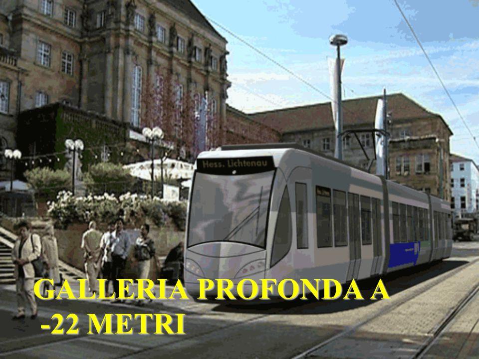 GALLERIA PROFONDA A -22 METRI