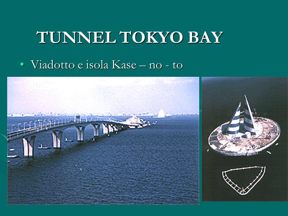 TUNNEL TOKYO BAY Viadotto e isola Kase – no - toViadotto e isola Kase – no - to