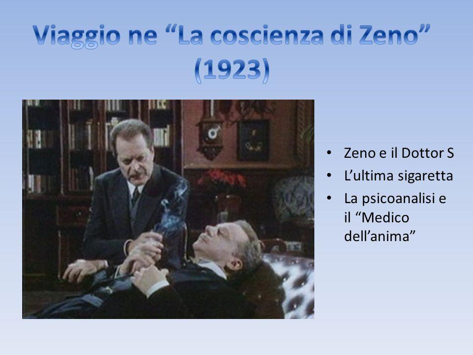 Zeno e il Dottor S L'ultima sigaretta La psicoanalisi e il Medico dell'anima