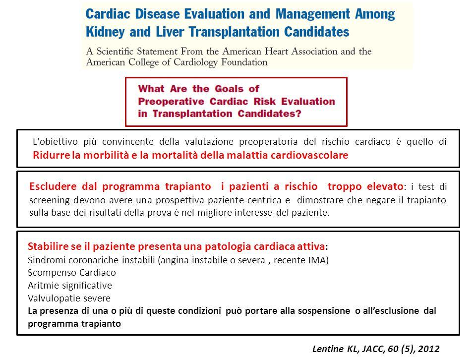L'obiettivo più convincente della valutazione preoperatoria del rischio cardiaco è quello di Ridurre la morbilità e la mortalità della malattia cardio