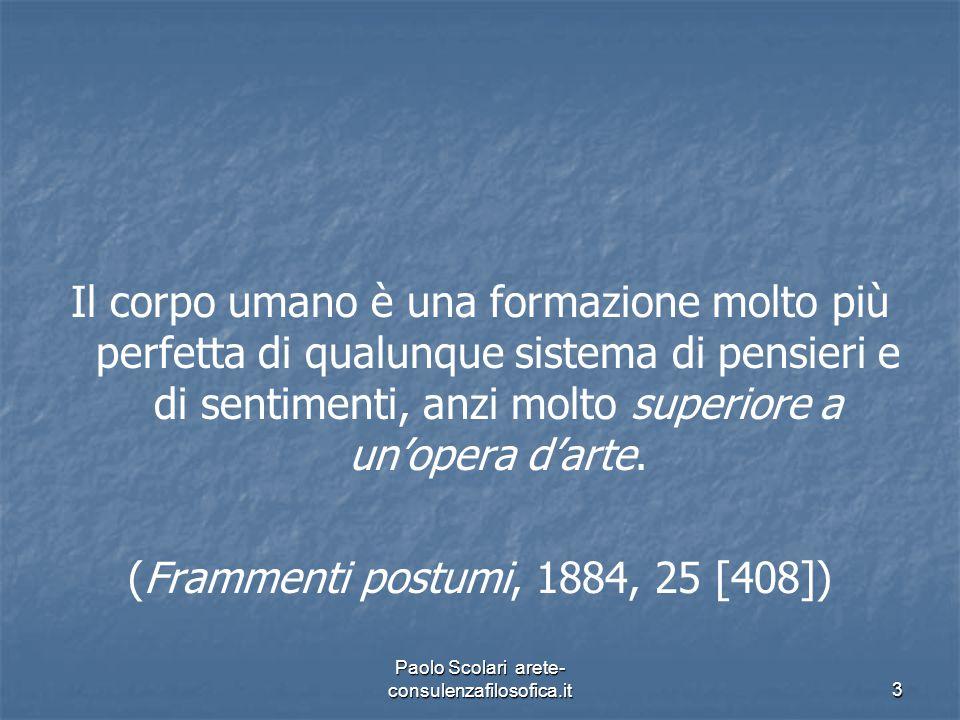 5. Corpo, frammenti e totalità Paolo Scolari arete- consulenzafilosofica.it34
