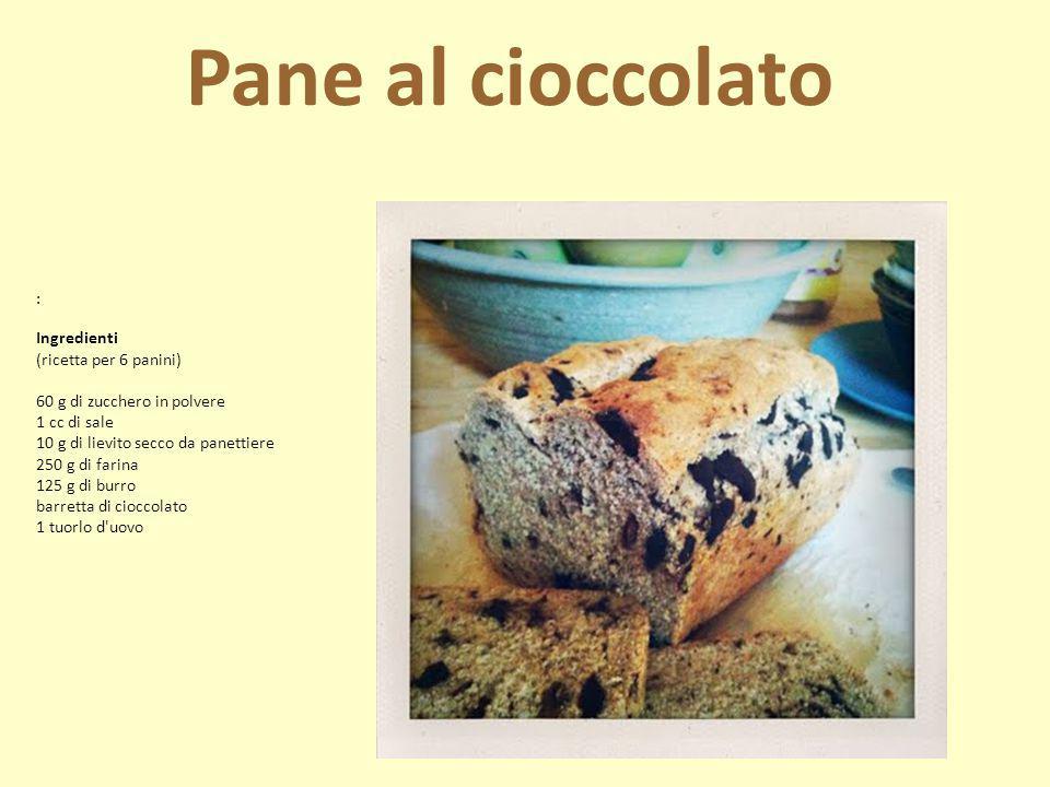: Ingredienti (ricetta per 6 panini) 60 g di zucchero in polvere 1 cc di sale 10 g di lievito secco da panettiere 250 g di farina 125 g di burro barre
