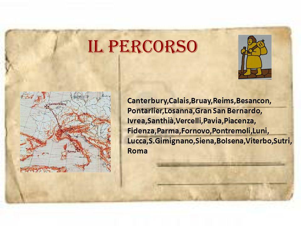 Cartolina da SAN GIMINIANO Morini Jennifer Nel Medioevo la città si trovava su una delle direttrici della via Francigena, che Sigerico, arcivescovo di Canterbury, percorse tra il 990 e il 994 e che per lui rappresentò la XIX tappa (Mansio) del suo itinerario di ritorno da Roma verso l Inghilterra.