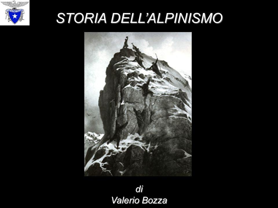 STORIA DELL'ALPINISMO di Valerio Bozza
