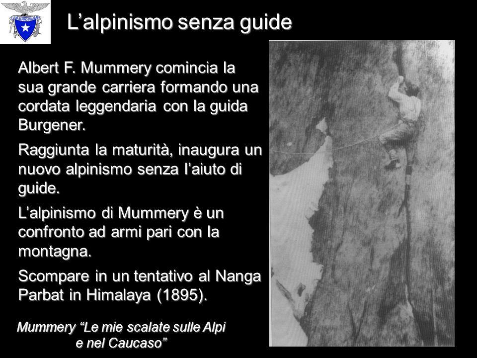 L'alpinismo senza guide Albert F.