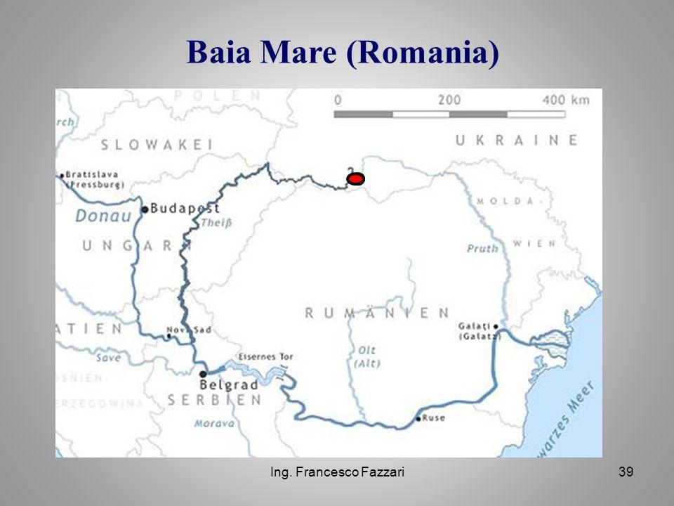 Ing. Francesco Fazzari39 Baia Mare (Romania)