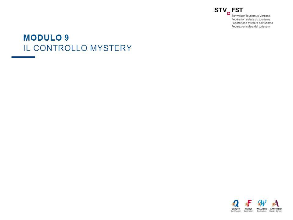 MODULO 9 IL CONTROLLO MYSTERY
