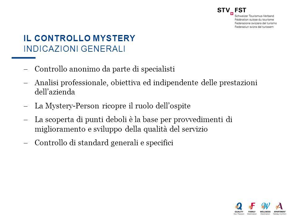  Controllo anonimo da parte di specialisti  Analisi professionale, obiettiva ed indipendente delle prestazioni dell'azienda  La Mystery-Person rico