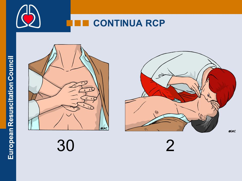 European Resuscitation Council CONTINUA RCP 302
