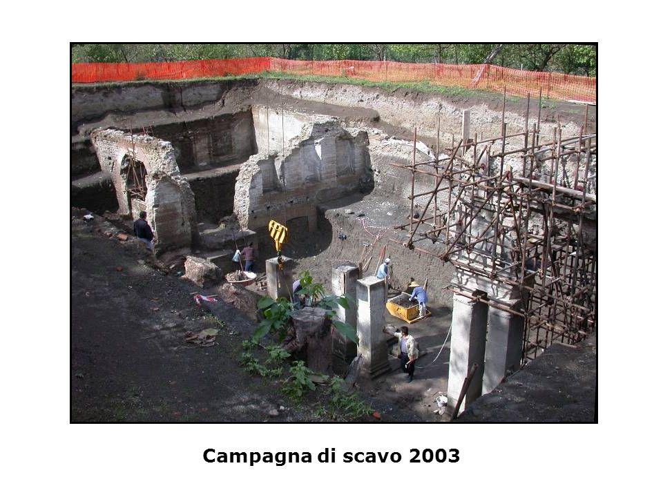 Campagna di scavo 2003