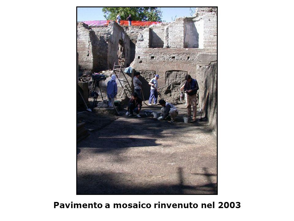 Pavimento a mosaico rinvenuto nel 2003