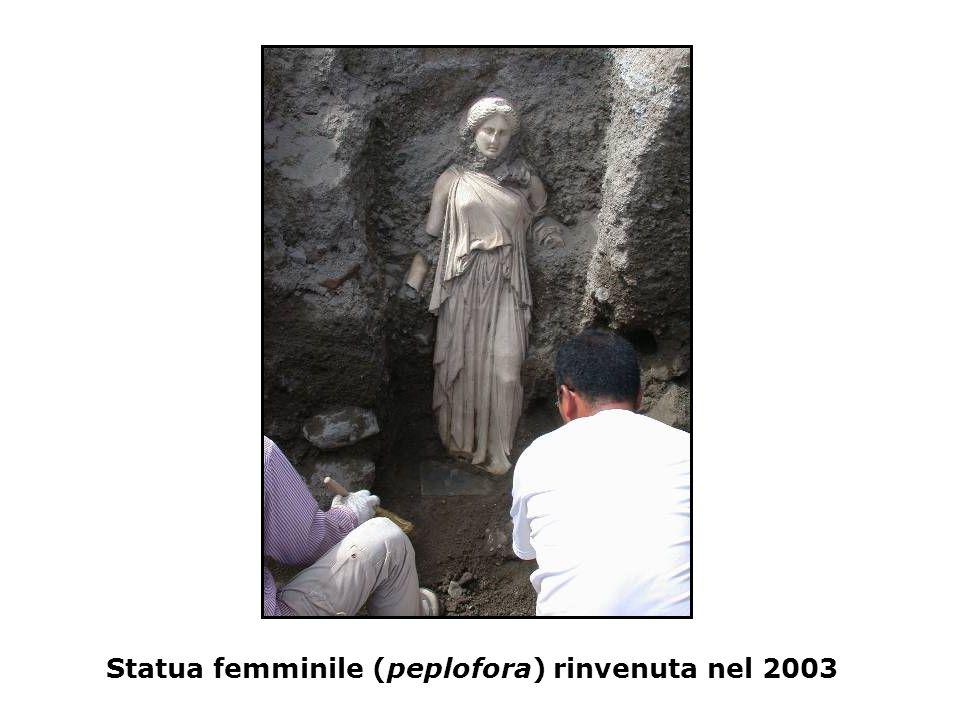 Statua femminile (peplofora) rinvenuta nel 2003