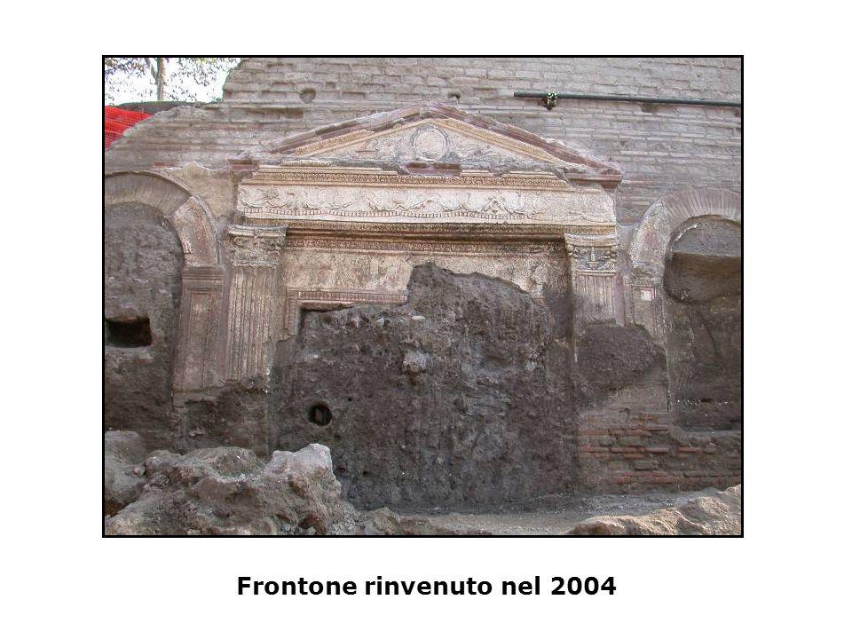 Frontone rinvenuto nel 2004