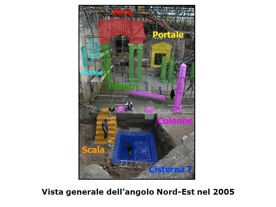 Vista generale dell'angolo Nord-Est nel 2005