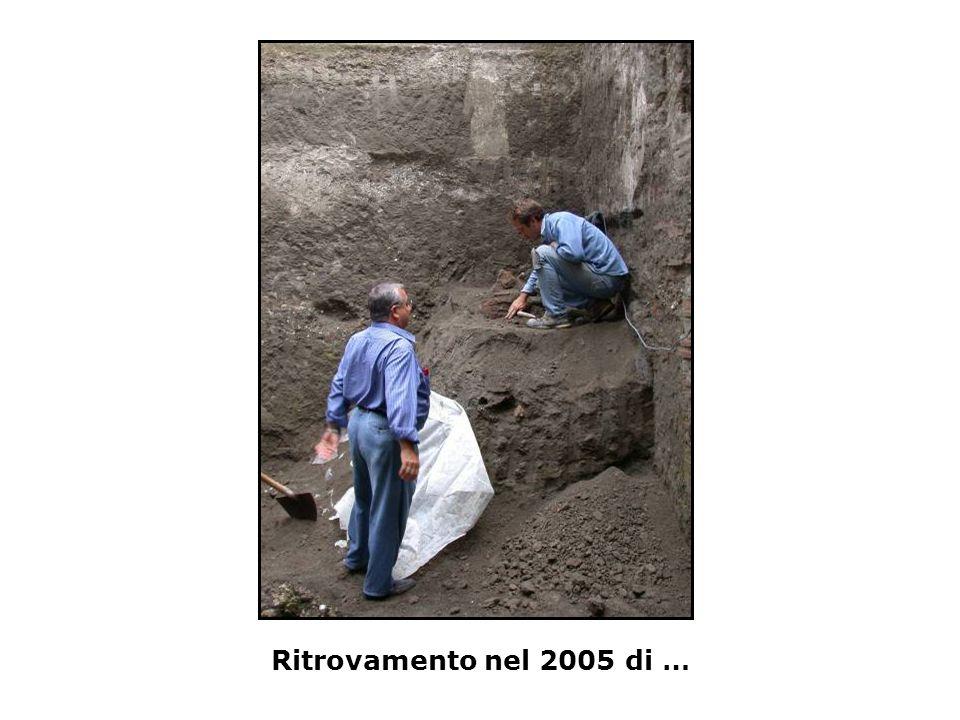 Ritrovamento nel 2005 di …