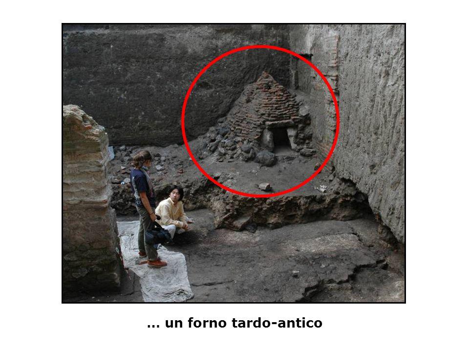 … un forno tardo-antico